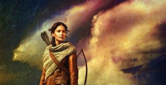 Catching Fire cloud poster 570x294 Stunning New Hunger Games: Catching Fire IMAX Poster; Budget Expansion Explained