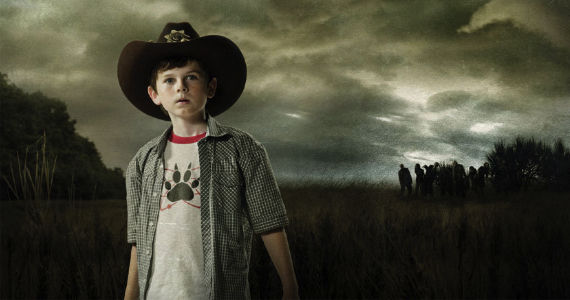 Chandler Riggs The Walking Dead The Walking Dead Season 3: Carl Grows Up