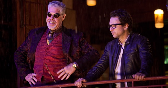 Charlie Day and Ron Perlman in Pacific Rim Guillermo Del Toros Original Pacific Rim 2 Plans Included Newt as a Villain