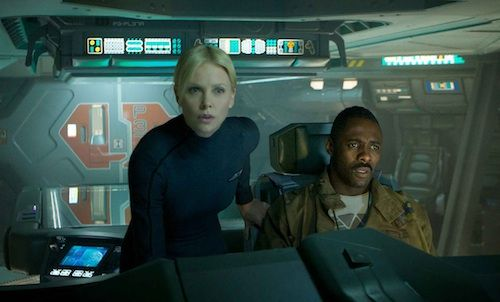 Charlize Theron Idris Elba Prometheus Movie Prometheus Review
