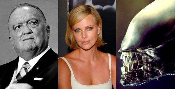Charlize Theron not starring in J. Edgar Charlize Theron Not Joining J. Edgar; Possibly Starring in Alien Prequel