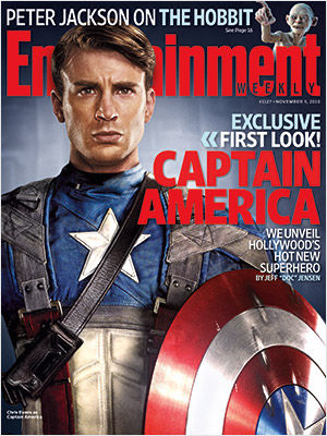 Chris Evans as Captain America Official First Look At Chris Evans As Captain America [Updated]