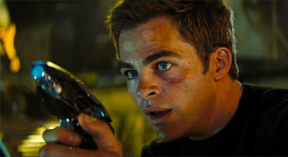 Chris Pine as Captain Kirk Chris Pine & Alex Kurtzman Talk Star Trek 2 Story & Villain
