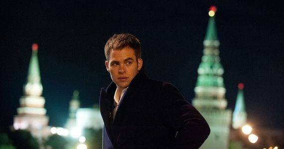 Chris Pine as Jack Ryan 2014 Jack Ryan: Shadow Recruit Producers Talk Rebooting The Tom Clancy Character