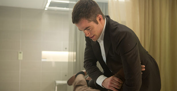 Chris Pine in Jack Ryan Shadow Recruit Preview Footage Jack Ryan: Shadow Recruit Interview: Chris Pine on Playing A Hero