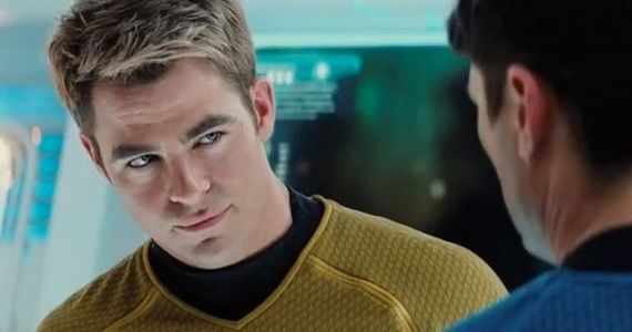Chris Pine in Star Trek Into Darkness Chris Pine to Cameo in Joe Carnahans Stretch with Patrick Wilson
