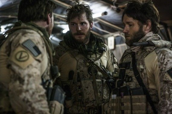 Chris Pratt Joel Edgerton Zero Dark Thirty 570x380 Chris Pratt Will Lead Marvels Guardians of the Galaxy
