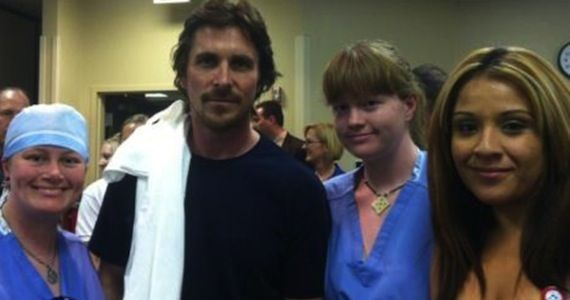 Christian Bale Hospital Visit Dark Knight Rises Star Christian Bale Visits Colorado Shooting Victims