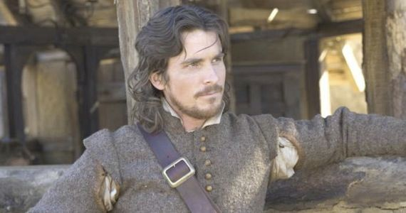 Christian Bale in The New World Casting Roundup: Bond 23, R.I.P.D., New Terrence Malick Project