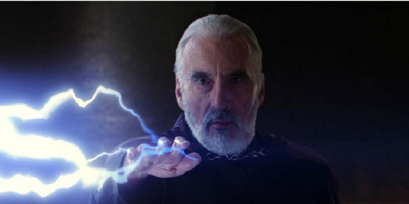 Christopher Lee Saruman Dooku Star Wars Lord of the Rings Dracula