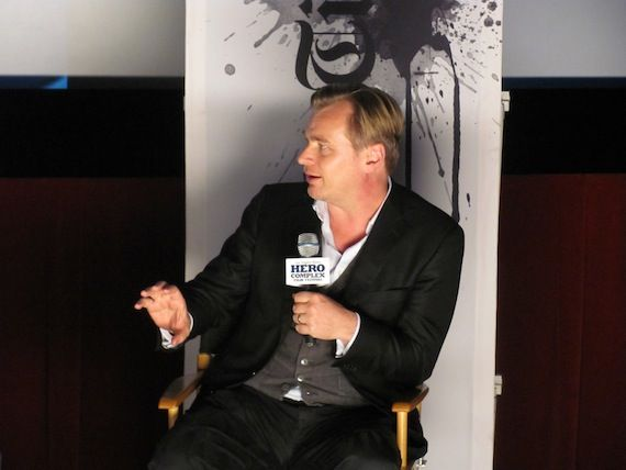 Christopher Nolan interview Hero Complex Chris Nolan Speaks at the Hero Complex Film Festival