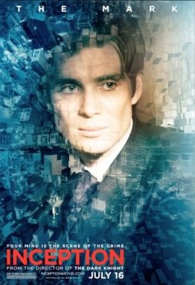 Cillian Murphy Inception The Mark Poster 280x408 Cillian Murphy Discusses Inception and Batman 3