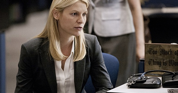 Claire Danes in Homeland Uh... Oh... Ah... Homeland: Famous In A Bad Way