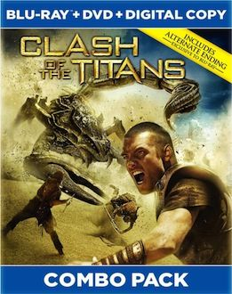 Clash of the Titans box art DVD/Blu ray Breakdown: July 27th, 2010