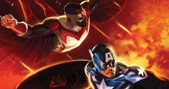 Classic Falcon Captain America Captain America 2: Anthony Mackie Talks Falcon Workout & Origins