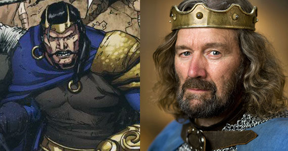 Clive Russell Tyr Thor Clive Russell (Tyr) in Thor: The Dark World