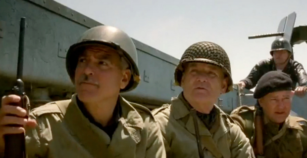 Clooney Murray Monuments Men George Clooneys The Monuments Men Delayed Until 2014