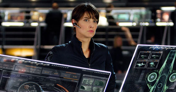 Cobie Smulders Agent Maria Hill SHIELD TV Show Joss Whedon Calls S.H.I.E.L.D. TV Show Hopeful; Talks Marvel Verse Crossovers