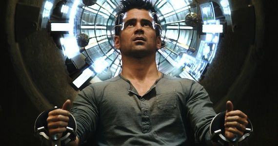 Colin Farrell Total Recall 2012 Total Recall Review