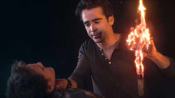 Colin Farrell and Anton Yelchin in Fright Night Fright Night Review