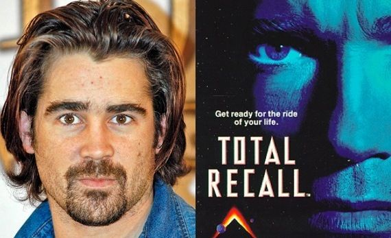 Colin Farrell confirmed for Total Recall Colin Farrell Confirmed For Total Recall; No 3D