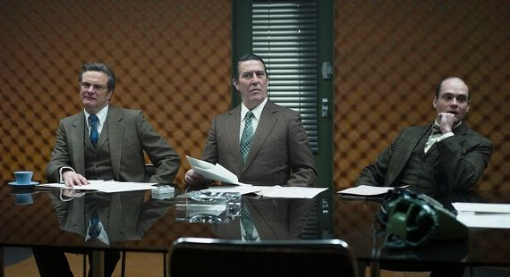 Colin Firth Ciaran Hinds and David Dencik in Tinker Tailor Soldier Spy Tinker Tailor Soldier Spy Review