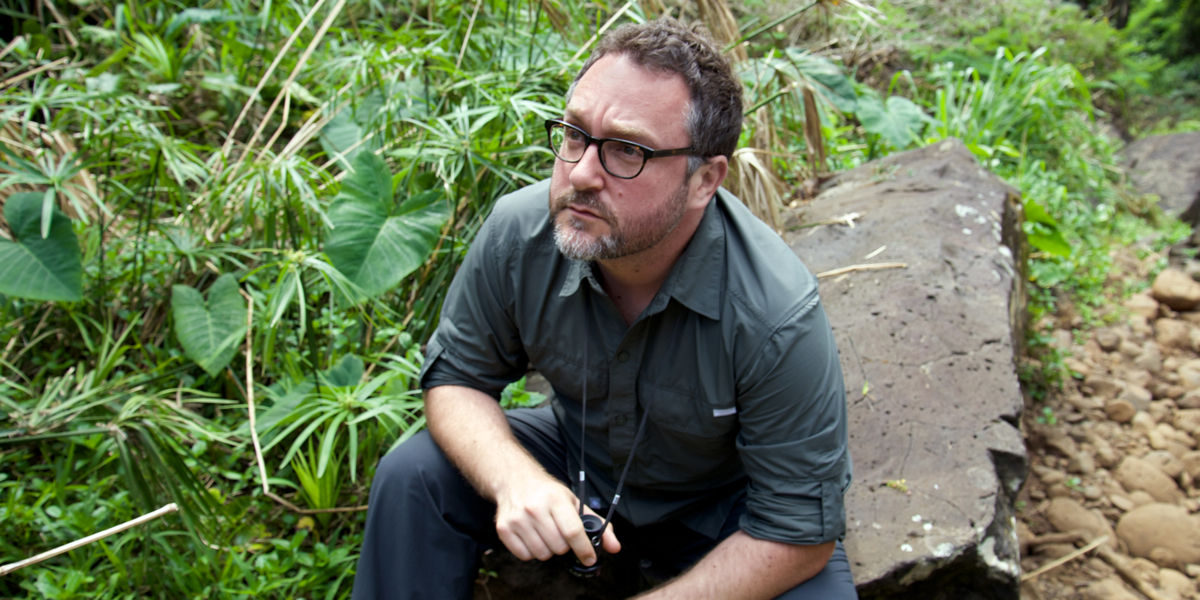 Colin Trevorrow on Jurassic World set
