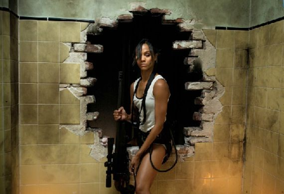 Colombiana Zoe Saldana images Screen Rants (Massive) 2011 Movie Preview
