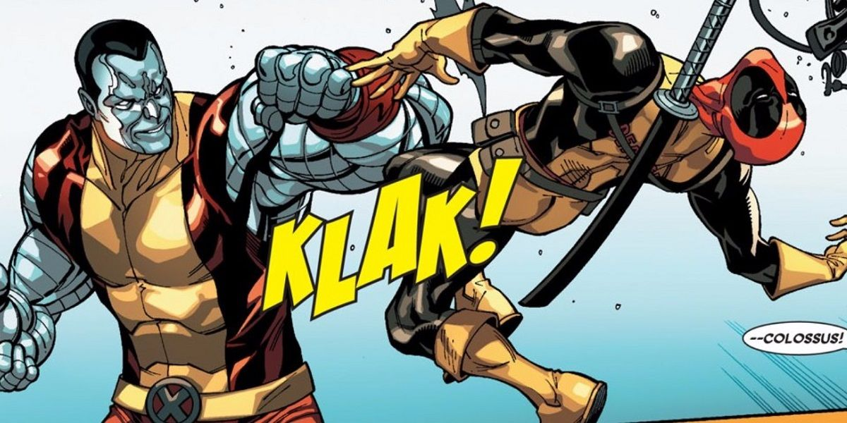 deadpool and colossus relationship