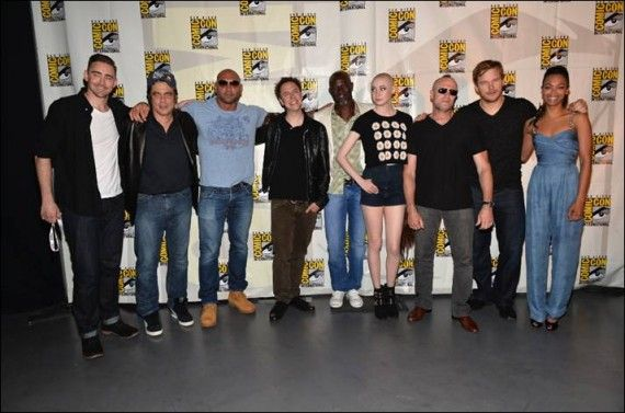 Comic Con 2013 Guardians of the Galaxy Cast on Stage 570x377 Marvel Studios Has Movies Planned Through to 2021
