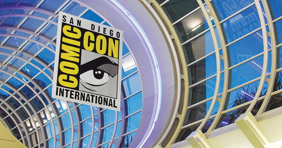 Comic Con International San Diego Convention Center Banner San Diego Comic Con Only Selling Single Day Passes for 2014