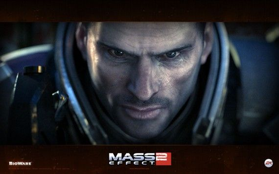 Commander Shepard Mass Effect 570x356 Commander Shepard in Mass Effect