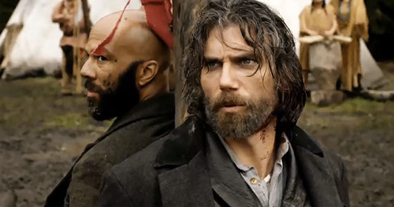 Common and Anson Mount in Hell on Wheels The Game Hell on Wheels Season 3, Episode 4 Review – A Little Stickball