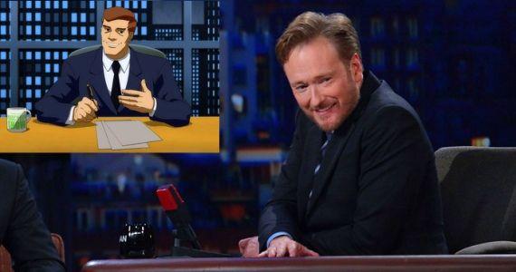 Conan OBrien Dark Knight Returns Part 2 Conan OBrien To Provide Voice For The Dark Knight Returns, Part 2