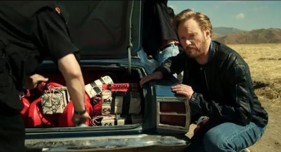 Conan OBrien TV spots for Conan New Conan OBrien Ads Feature Blimps, Suds, and Exploding Cars