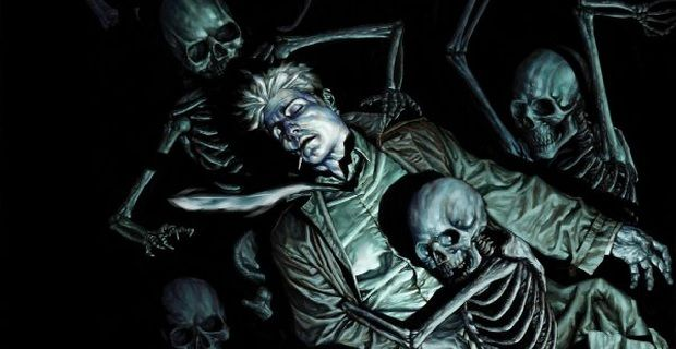 Constantine with skeletons Constantine to be Set in New York; Papa Midnite is Series Antagonist