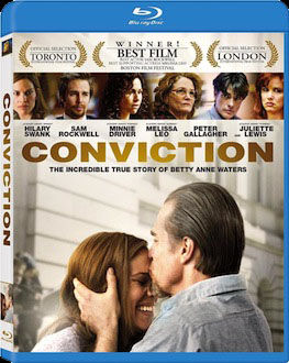 Conviction DVD blu ray box art DVD/Blu ray Breakdown: February 1st, 2011