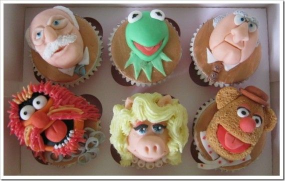 Cool Muppets Cupcakes 570x362 SR Geek Picks: Wolverine Fett, Muppet Cupcakes & Back to the Fatwah