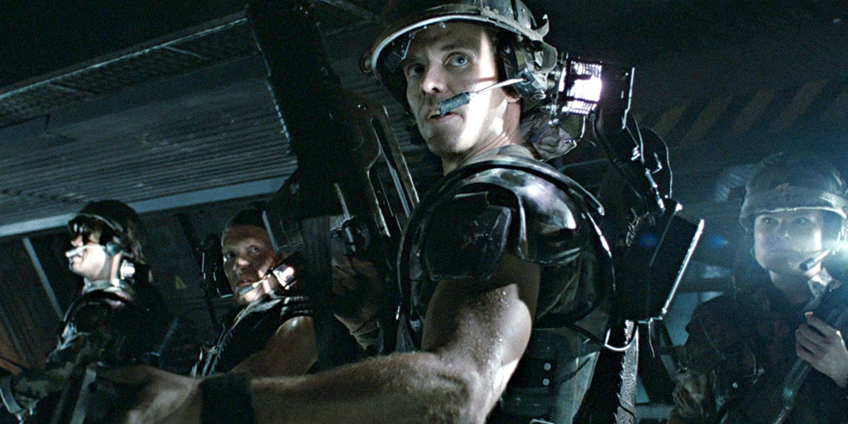 Corporal Hicks in Aliens