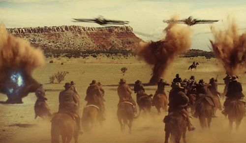 Cowboys and Aliens Battle Cowboys & Aliens Review