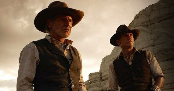 Cowboys and Aliens Review e1311720347143 Interview: Cowboys & Aliens Star Daniel Craig Talks Violence & Han Solo Jokes