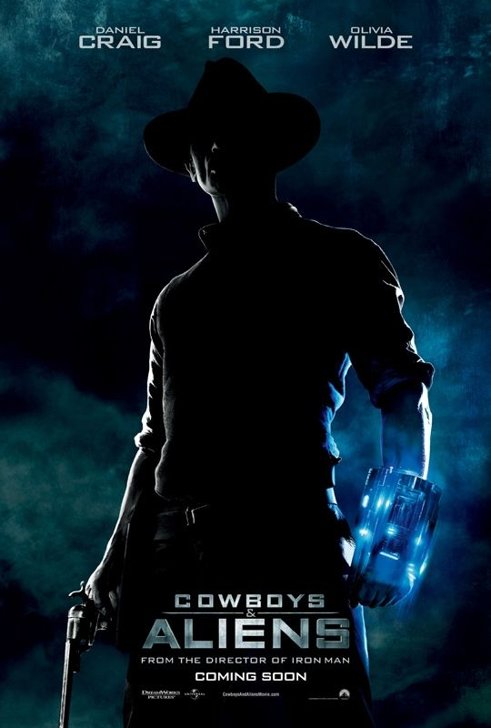 Cowboys and Aliens movie poster Movie Poster Roundup: Cowboys & Aliens, Black Swan, And More