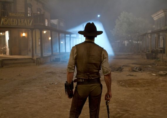 Craig cowboys and aliens Cowboys & Aliens Edit Bay Visit With Jon Favreau