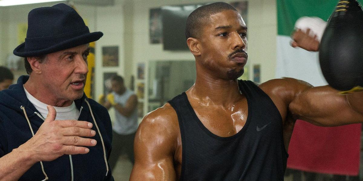 Creed Michael B Jordan Sylvester Stallone Training 2015