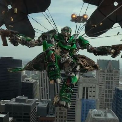 Crosshairs Transformers 4 Movie 2014 C7 Corvette Stingray