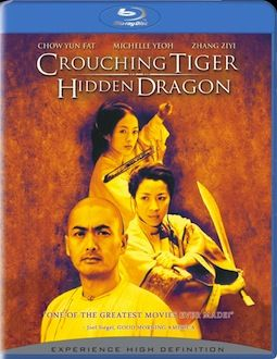 Crouching Tiger Hidden Dragon box art DVD/Blu ray Breakdown: July 27th, 2010