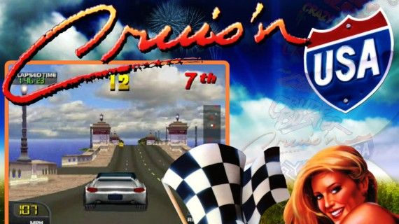 Cruisn USA Title Screen 570x320 Cruisn USA Cover Art