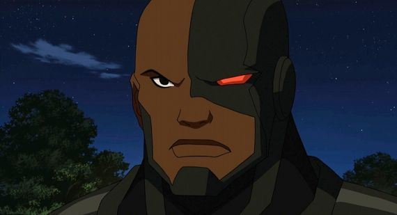Cyborg in Justice League Doom Justice League: Doom Review