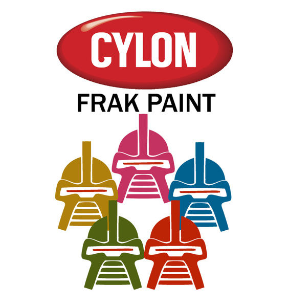 Cylon Frak Paint Cylon Frak Paint
