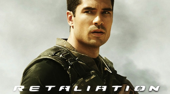 DJ Cotrona Flint GI Joe Retaliation Former Superman D.J. Cotrona on Canceled Justice League Movie
